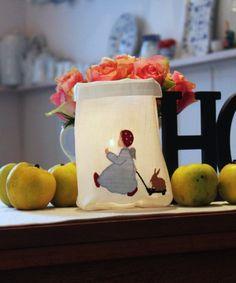 """Stickdatei  """"Kleiner Engel mit Hase"""" von  """"FeinKram""""  hier gibt es die schönsten Scherenschnitt StickDateien ;-))) auf DaWanda.com"""