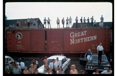 Untitled, June 8, 1968, from the series RFK Funeral Train