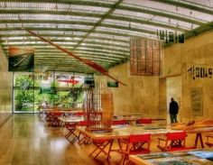 If you're in Dallas, you have to check out Nasher Sculpture Center. So cool. And right behind the Dallas Museum of Art. Bonus: the cafe is owned and operated by Wolfgang Puck.