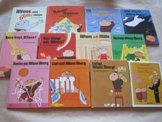 STORT paket med ALFONS böcker 12st