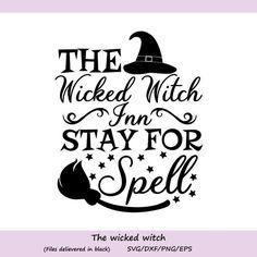 Halloween Quotes, Halloween Signs, Halloween Projects, Halloween Art, Halloween Pillows, Halloween Witches, Happy Halloween, Halloween Decorations, Silhouette Projects