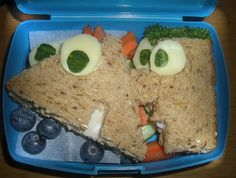 Phineas and Ferb sandwiches