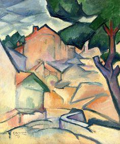 Maisons à l'Estaque Georges Braque - 1907