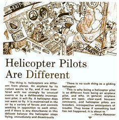 Helicopter Pilots Are Different flying Igor Sikorsky, Pilot Humor, Helicopter Pilots, Horse Fly, United States Army, Magic Carpet, Aviation, Aircraft, Helicopters