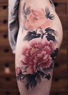 … tattoos thigh tattoo ideas thighs hip thigh tattoo flowers thigh tattoo – The post … tattoos thigh tattoo ideas … appeared first on Garden ideas - Tattoos And Body Art Hip Thigh Tattoos, Floral Thigh Tattoos, Tattoo Hip, Tattoo Floral, Small Tattoo, Back Thigh Tattoo, Thigh Tattoos For Women, Mandala Thigh Tattoo, Neue Tattoos