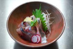 sliced raw fish in BIZEN : COOKING ROOM 401 http://cookingroom401.blogspot.jp/
