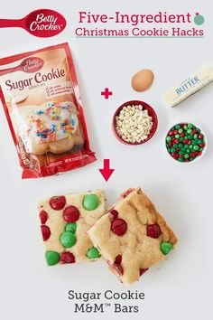 Christmas Cookie Hacks Need Christmas cookies in a hurry? These clever hacks will make you merry in no time!Need Christmas cookies in a hurry? These clever hacks will make you merry in no time! Christmas Snacks, Christmas Cooking, Holiday Treats, Holiday Recipes, Christmas Parties, Christmas Candy, Christmas Eve, Köstliche Desserts, Holiday Baking