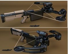 Automatic Crossbow by ~mrhd on deviantART