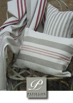 Vorhänge,Kissen & Tischwäsche aus Leinen Im Sommerlook Throw Pillows, Blanket, Home, Linen Fabric, Textiles, Pillows, Toss Pillows, Cushions, Ad Home