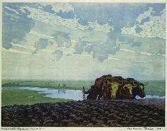 Modern Printmakers: Modern Wood Block Prints at Brown-Robertson Gallery, New York, 1921 Carl Alexsander Brendell