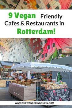 Rotterdam surprised me because I couldn't find that many vegan cafes and restaurants. However I did find quite a few cafes and restaurants in Rotterdam that were vegan friendly with good vegan options, here they are. Backpacking Europe, Europe Travel Tips, European Travel, Travel Advice, Travel Guides, Travel Destinations, Travelling Europe, Travel Plan, Travel Articles