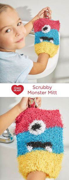 Scrubby Monster Mitt