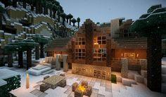minecraft log cabin - Google Search