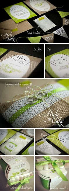 picnic wedding green avana savethedate ideas favor stationery inspiration weddingideas you can find it at www.makeacake.it