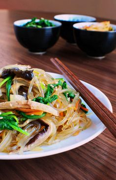 Jap Chae is a traditional korean dish, and i've never been disappointed every time i've had it.