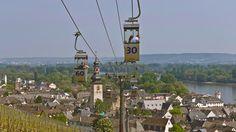 Cable Car - Rüdesheim und Assmannshausen am Rhein
