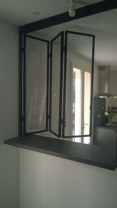 Canopy Kitchen: Canopy steel canopy by Kitchen Window Bar, Kitchen Canopy, Glass Kitchen, Home Decor Kitchen, Kitchen Furniture, Kitchen Interior, Home Kitchens, Window Bars, Decorating Kitchen