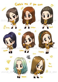 Catch Me If You Can (Chibi version)