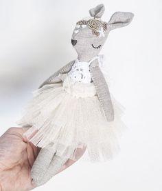 Bambi girl in her party dress💕 . . . . . . . . . . . . . . . . #handmade #bambi #fawn #doll #clothdoll #fabricdoll #sewing #sewingforkids #toy #kidsroom #kidsroominspo #embroidery #crochet #tulleskirt #itsetehty #nukke #käsityö #virkkaus #kirjonta #tyllihame #lastenhuone #ompelu