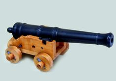 completed gun and carriage