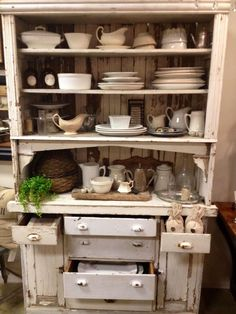 A Beautiful Mess - in love with this cabinet!