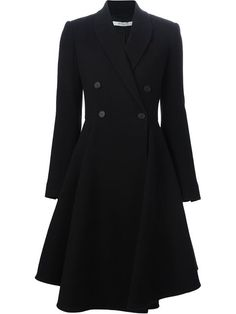 Shop Givenchy flared double breasted coat in Luisa World from the world's best independent boutiques at farfetch.com. Shop 300 boutiques at one address.