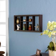 Theda Display Shelf in Espresso