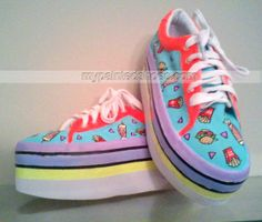 custom Burgers Shoes Slip-on Painted Canvas Shoes