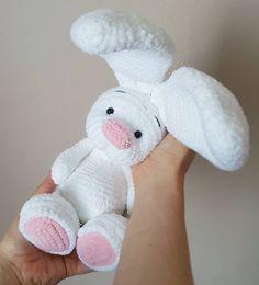 Amigurumi Toys, Crochet Animals, Handmade Toys, I Shop, Crochet Patterns, Bunny, Etsy, Crochet Dolls, Budget
