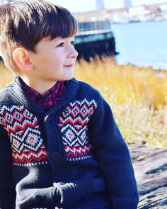 """Little Blake is rocking his Fair Isle Shawl Colar Cardigan from OshKosh which is perfect for the holidays. I  all the holiday styles they have at @Oshkoshkids this season! They have the cutest holiday outfits for all three of my kids too which makes shopping easier on me! this kid is my FAV """"little man"""". #ad #BgoshBelieve #fashion #microfashion #mylittleman #minidaddy #holidayoutfits #littleboy #boymodel #littlemodel #thoseeyesthough #cute #igdaily #instacute #oshkoshkids #modelchild…"""