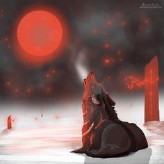 .:[Red Moon]:. by Delayah95.deviantart.com on @deviantART