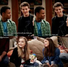 Awwwww!!! Riarkle!!!!! Look how happy Maya is for her BFF and Farkle!!!! This needs to happen!!!