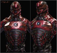 Iron Bee by mars145214 - mars - CGHUB #robot #armor