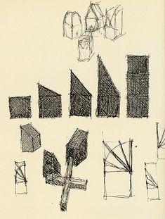 John Hejduk. Architectural Design v.61 n.92 1991: 52 | RNDRD