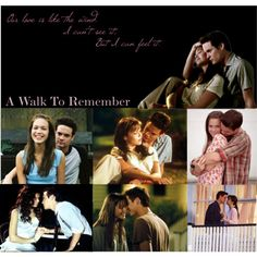 A Walk to Remember: Our love is like the wind, I can't see it, but I can feel it. Love this movie!!!!!