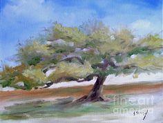 Deborah's Tree Sally Simon Oil Painting on Canas