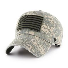 Operation Hat Trick Digital Camo Nilan 47 Brand Adjustable USA Flag Hat -  Great Prices And Fast Shipping at Detroit Game Gear da67e65677e