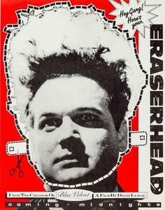Poster for 'Eraserhead' (1977) David Lynch