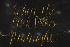 When the Clock Strikes Midnight by TheIndieCottage on Etsy