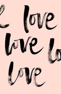 Love handlettering by Corina Nika Words Quotes, Me Quotes, Motivational Quotes, Inspirational Quotes, Sayings, Bible Quotes, Pink Quotes, The Words, Mots Forts