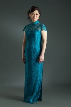 Zion Creation Couturier is an independent Boutique & manufacturer of Modern Cheongsam / Qipao, Mother's Gown, Gowns for Plus-size, cocktail Dresses. Plus Size Evening Gown, Plus Size Gowns, Evening Gowns, Cheongsam Modern, Mother Of The Bride, Bride Groom, Cool Tattoos, Custom Made, Cocktails