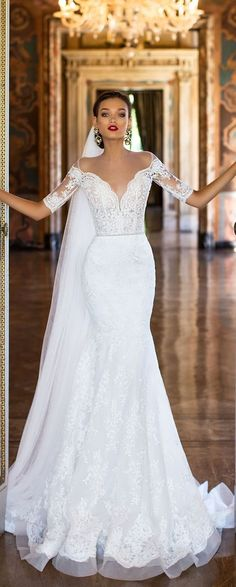 55+ Wedding Dresses for Fall - Best Wedding Dress for Pear Shaped Check more at http://svesty.com/wedding-dresses-for-fall/
