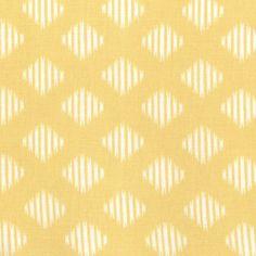 Diamond Ikat Yellow ~ Maasai Mara @ Sew,Mama,Sew!