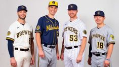 This is what the new era of Brewers Baseball looks like. The post Milwaukee Brewers: This is what the new era of Brewers Baseball looks like. appeared first on Raw Chili. Color Rush Uniforms, Mlb Uniforms, Baseball Uniforms, Milwaukee Brewers, Fox Sports, Sports News, Cricket, Man City New, Shirts