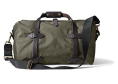 OGbroker.com :: Luggage/Shooting Bags :: Filson Small Duffle Light Otter Green 70314