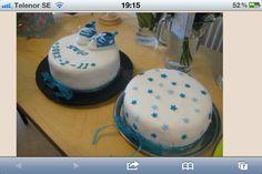 Baptism cake babyboy