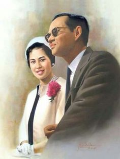 The queen consort of Bhumibol Adulyadej, King (Rama IX) of Thailand.