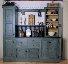 beautiful unfitted kitchen cabinet