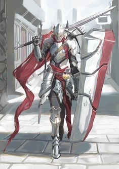 Knight Art, Jedi Knight, Manga Tutorial, Suit Of Armor, Fantasy Armor, Paladin, Anime Style, Dungeons And Dragons, Character Art