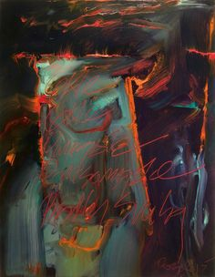 Currently in the studio - Lloyd Brown Abstract Painter, New Mexico